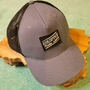 Vintage Von Zipper Rides Alone Hat